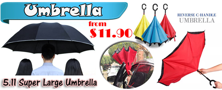 Super Large Umbrella / Reverse Umbrella