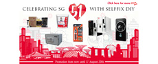 Selffix National Day Promo now Till 17Aug