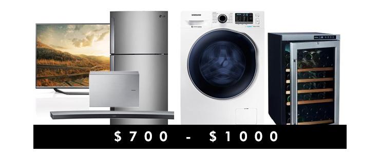 $700 - $1000
