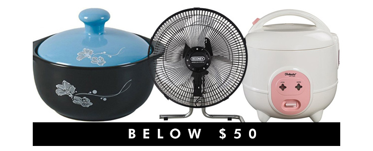 Below $50