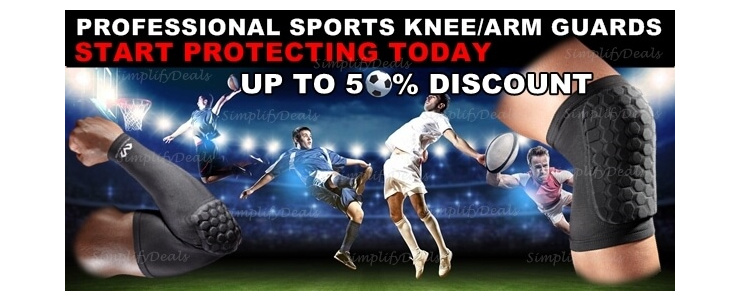 Sports Knee/Arm Guards