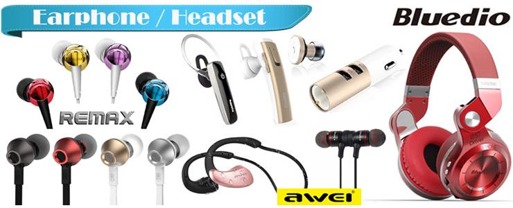 Earphone / Bluetooth Headset