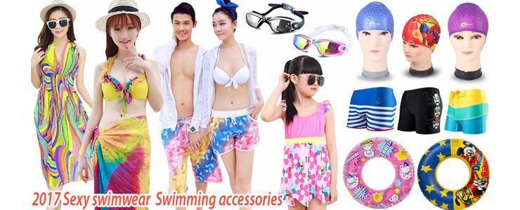 2017 Sexy swimwear Bikini  Swimming accessories