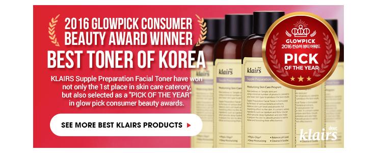 Klairs Award winning Products