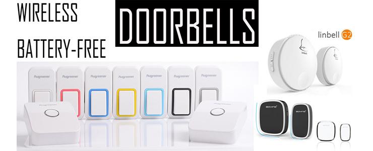 Wireless and Battery-free Doorbells