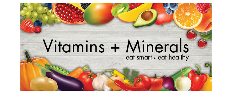 All the Vitamins + Minerals you ever need! The more  the merrier!
