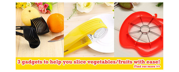 Slice Vegetables/Fruits With Ease!