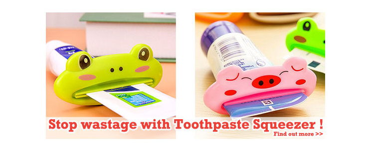 Stop Wastage with Toothpaste Squeezer