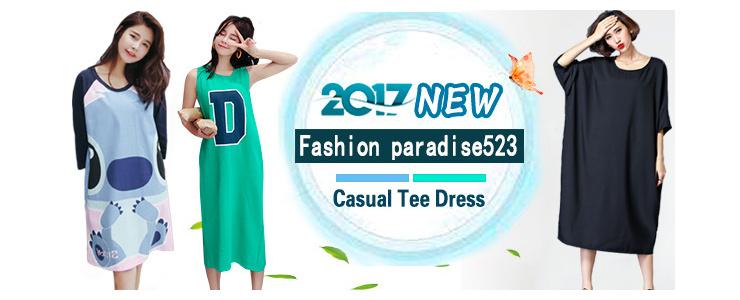 2017 fashion casual dress