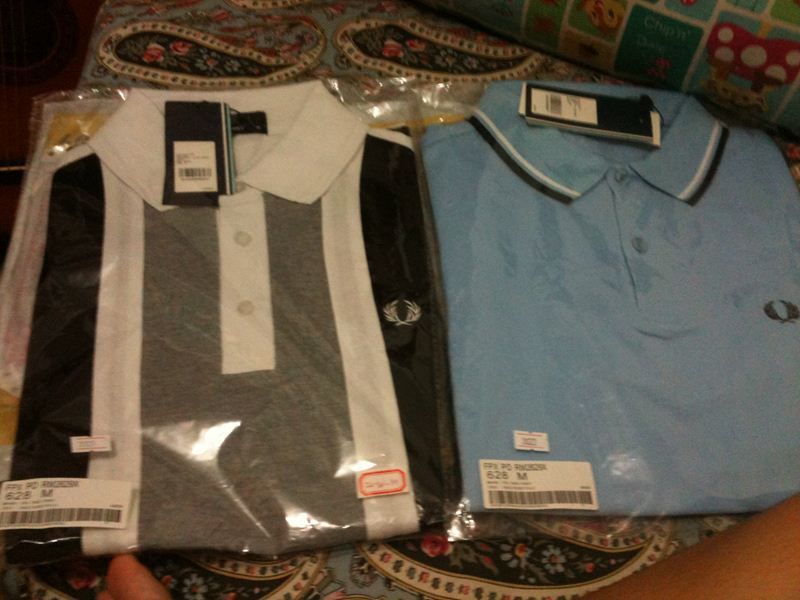 Men 39s Clothing 3 1 Gift Event Express Fred perry Shortsleeved Polo