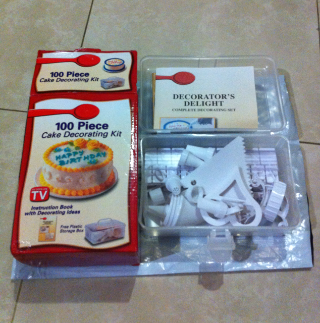Qoo10 100 pieces cake decorating kit as seen on tv for 100 piece cake decoration kit
