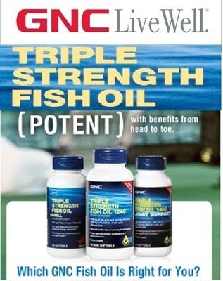 Qoo10 gnc triple strength fish oil and omega complex for Gnc triple strength fish oil 1500