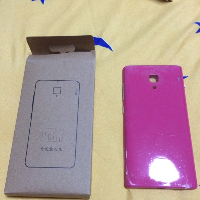how to open xiaomi mi3 back cover