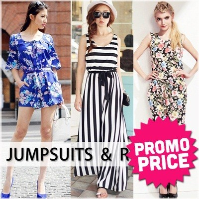 L66 2013 New Korean Style Fashion Jumpsuits Rompers Skirt Trousers Pants Tops