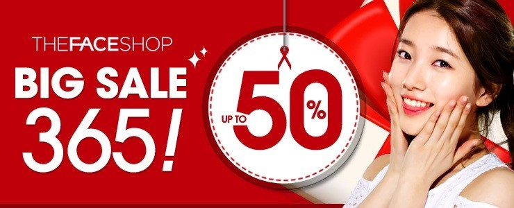 ★THE FACE SHOP BIG SALE 365★ Discount Zone