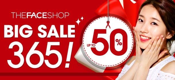 ★THE FACE SHOP BIG SALE 365★ Discount Zone