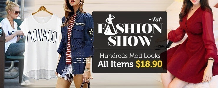 ★1st Fashion Show★ All Items $18.90!