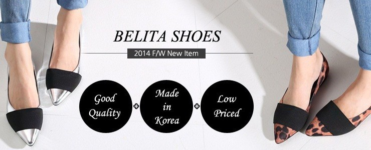 Belita 2014 F/W New shoes collection