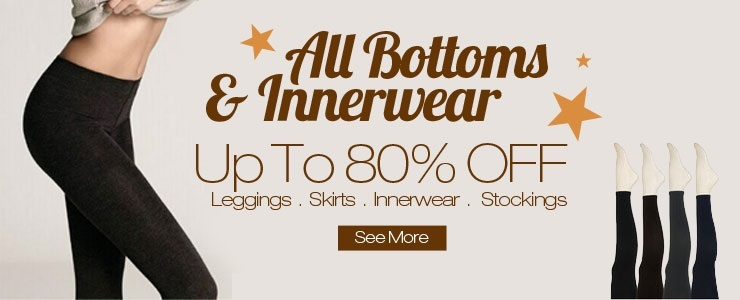 ★All Bottoms & Innerwear Up To 80% OFF★