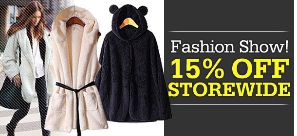 ★9th Fashion Show★ 15% OFF STOREWIDE for Purchases Over $15!