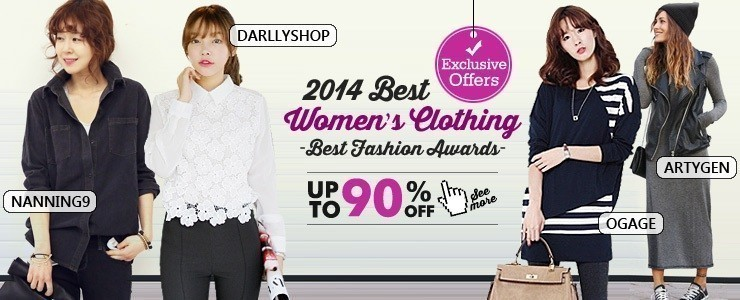 ★Fashion Show★ Together with 2014 Best Fashion Sellers