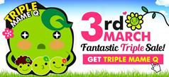 3rd March Fantastic Triple Sale