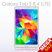 Samsung Galaxy Tab S 8.4 LTE (1 Year Samsung Local Warranty)