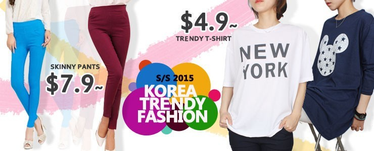 [Stock in SG] Korea Trendy T-Shirt and Pants