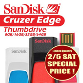 Promotion ENDS at  2/5 Saturday 2359hrs