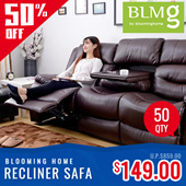 [BLMG_SG]Recliner sofa★Recliner Chair / 1 seater/ 3 seater Premium★Couch★Sofabed★Sale★Furniture★Home Deco★Singapore★Sofa★