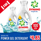 [PnG] FREE SHIPPING FOR FIRST 1000【NEW N IMPROVED Dynamo Power Gel  Detergent】Gives you 2x Stain Removal in 1 Wash.  50% More Cleaning Power Than Ordinary Liquids!