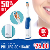 Philips Sonicare Toothbrush (1 Year International Warranty)