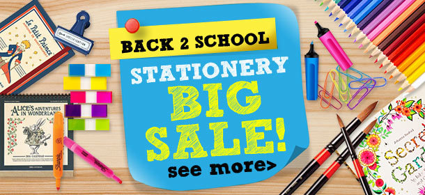 Stationery Big Sale!