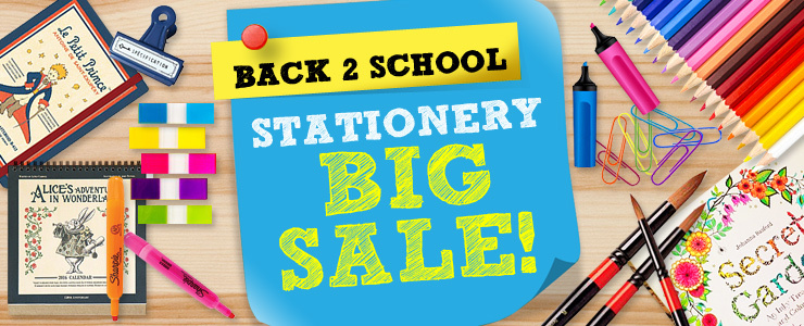 Stationery Big Sale!