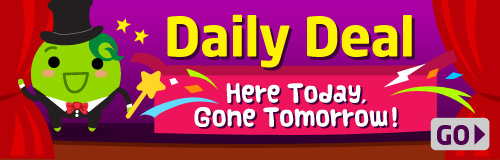 Daily Deal: Here today, gone tomorrow!