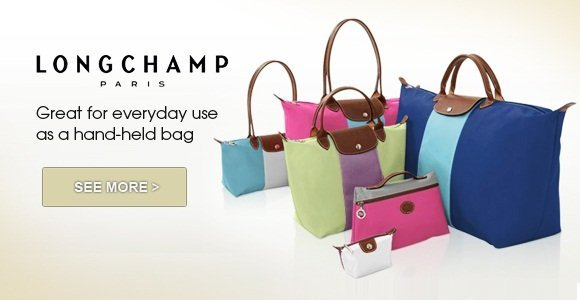 LONGCHAMP! Great for everyday use as a hand-held bag!