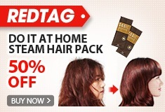 Do it at home! Steam Hair Pack!