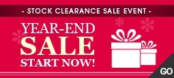 Year-End SALE Event Start now!!!