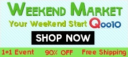 Weekend Market - Your weekend starts Qoo10!