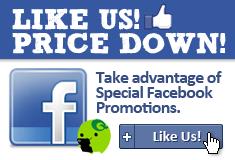 Like us! Price Down!