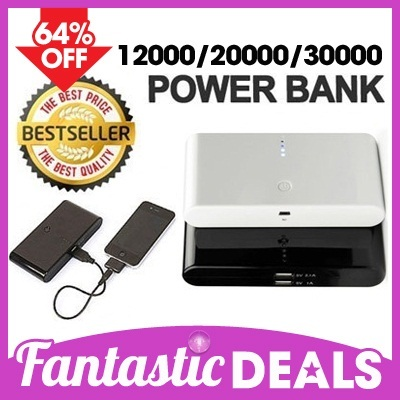 POWER BANK Charger 30000/20000/12000 mAh