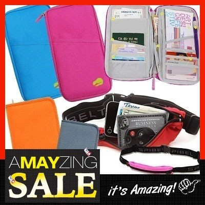 ★New Arrival! Spibelt Waistpack Full Passport package wallet / Handbags / travel / bag in bag /