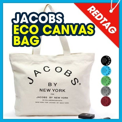 [From Japan] NEW JACOBS canvas ECO back ★ Stylish ★ 6 color ★ new canvas tote eco ★ brand canvas eco