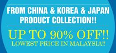 China & Korea & Japan Product Collection!!