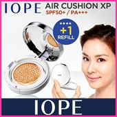 Korean Cosmetics ♥ The Golden Fishery [IOPE] Air Cushion XP SPF50+/PA+++ (+Refill 15g) / Amorepacific