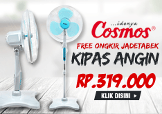 SUPER SALE COSMOS Kipas Angin SNQ 16 - 2in1