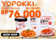 FREE SHIPPING 2PCS YOPOKKI HANYA RP.67.000!!!