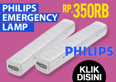 Crazy Deal 1 Day!! Philips Emergency Lamp 65K LED 30504 Hanya Rp.350.000