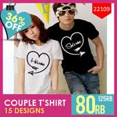 ★★★ T-SHIRT COUPLE ROMANTIS | BAJU COUPLE MURAH | KAOS COUPLE TERBARU | BEST SELLER!!! ★★★