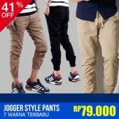 [RE-STOK 13/11]HOT ITEMS|JOGGER STYLE PANTS|7 warna terbaru
